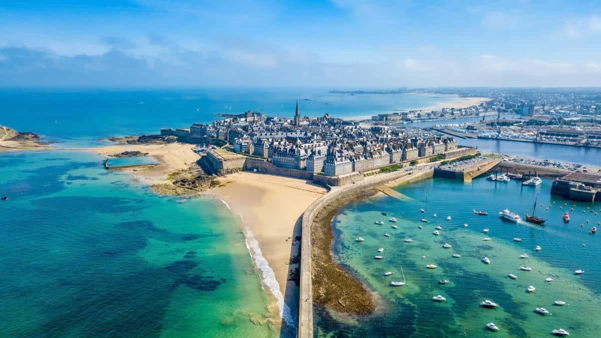 Villes bretonnes