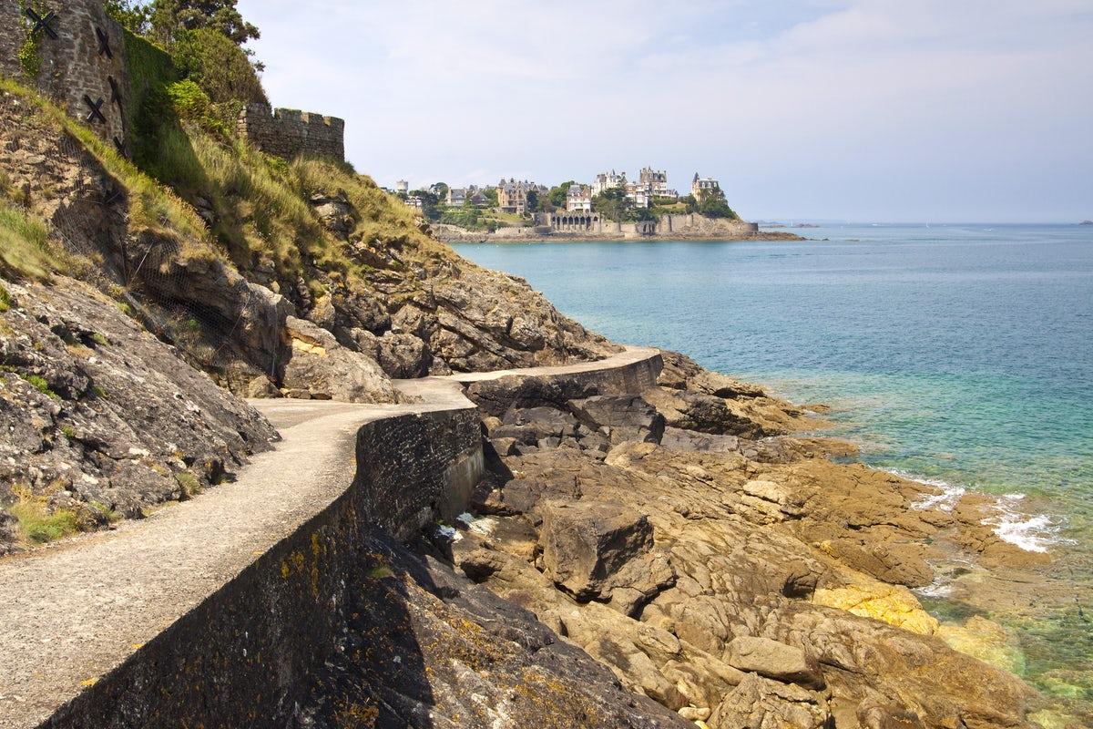 La côte d'émeraude de la Bretagne