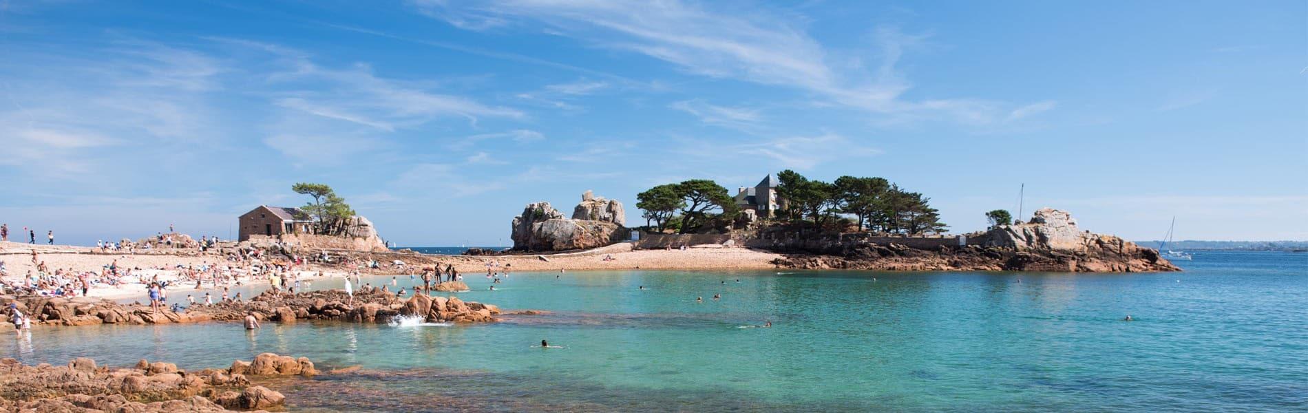 Visite des Côtes d'Amor de Bretagne