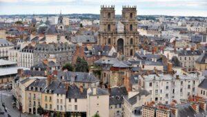 La vue des monuments historiques de Rennes