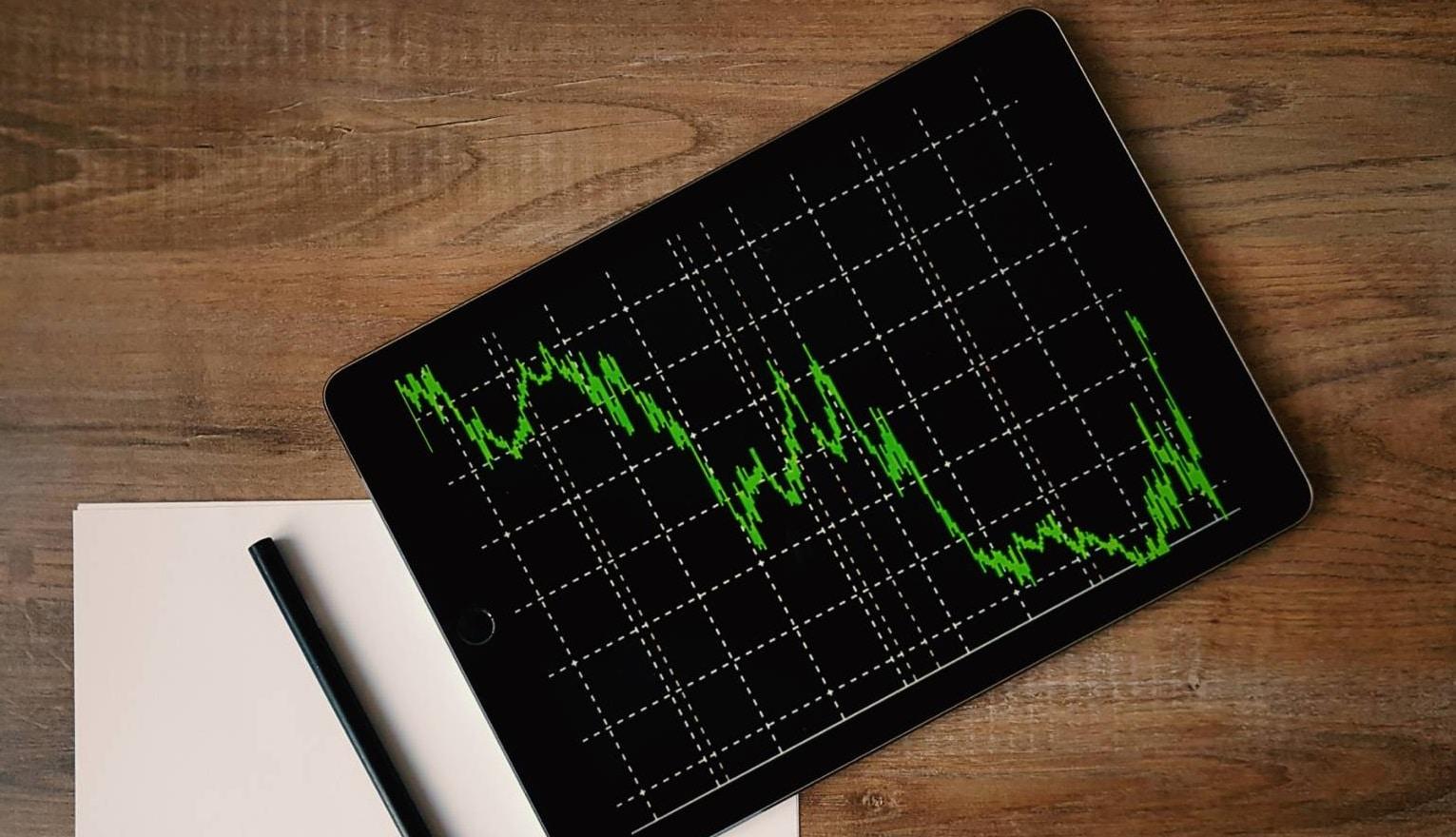 Tablette avec trading